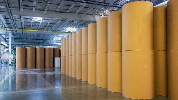 Kraft liner papir